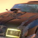3D Mad Max Ford Falcon