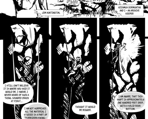 Bezmenný Komiks projekt - strana 2