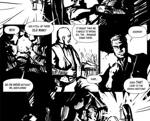 Bezmenný Komiks projekt - strana 3