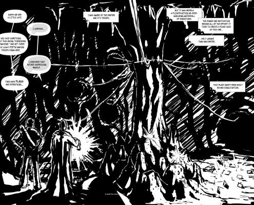 Bezmenný Komiks projekt - strana 4,5