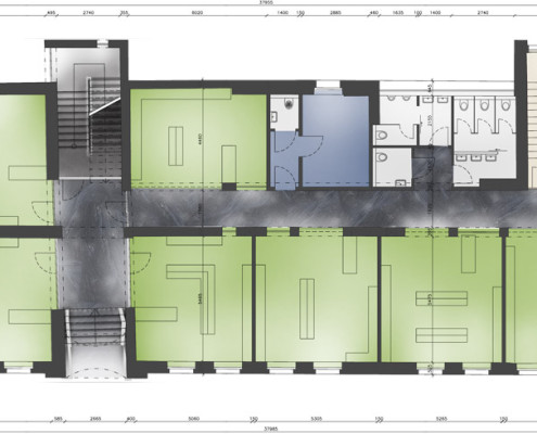 Layout - 1st floor