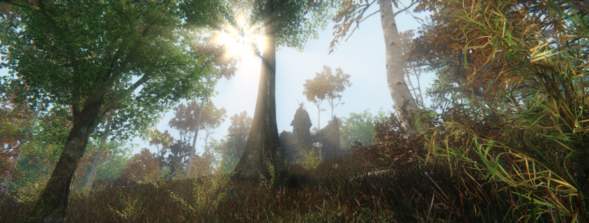 CryEngine Forest Environment