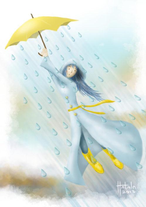 Illustration | Rain Fairy