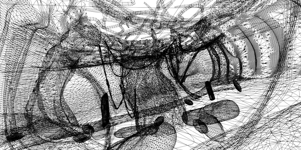 Root of the World Wireframe