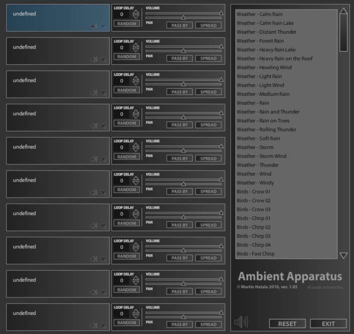 UI Design | Ambient Apparatus
