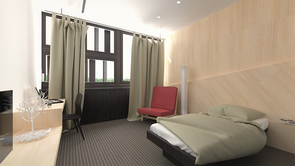 Zámoček (room detail)